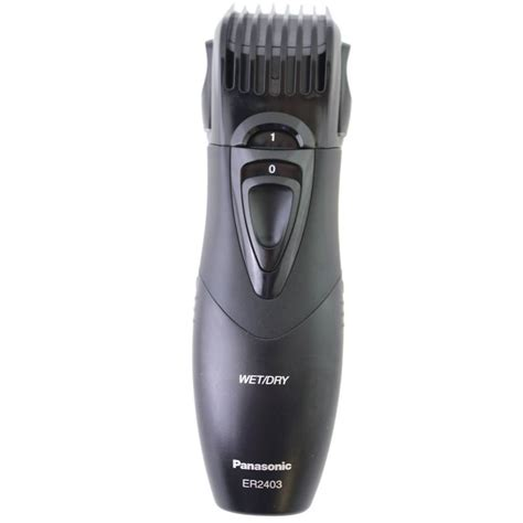 panasonic beard and hair s rechargeable electric beard trimmer that collects hair panasonic all in one
