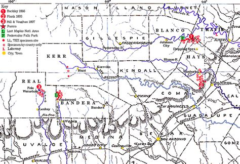 caprock escarpment texas map besw distribution