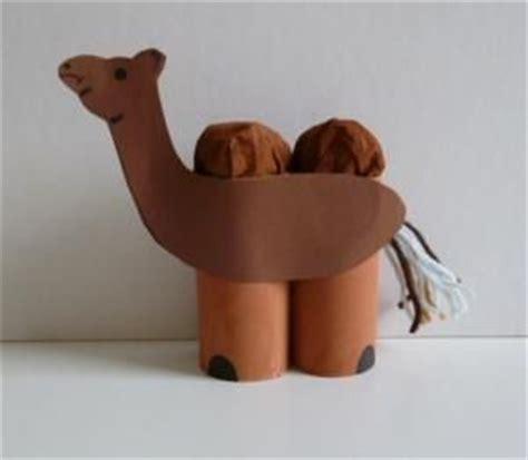 How To Make A Camel Out Of Paper - kamel aus klorollen tiere basteln meine enkel und ich
