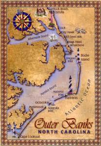map of the outer banks of carolina outer banks map favorite places