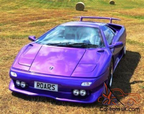 Lamborghini 4 Wheel Drive 1993 Lamborghini Diablo Vt Four Wheel Drive