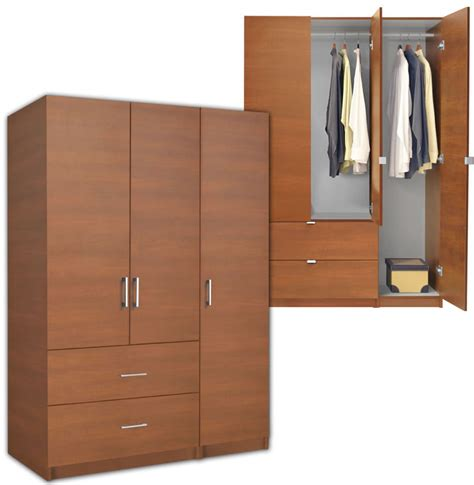 3 Door Armoire Wardrobe Alta Wardrobe Armoire 3 Door Armoire Right Opening