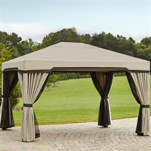 12 X 10 Canopy by Garden Oasis 10 Ft X 12 Ft Privacy Gazebo Limited