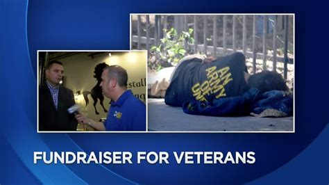cbs 58 veterans give blood help homeless vets find their place by attending a big