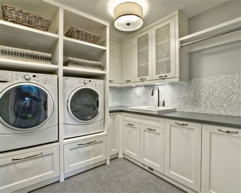 built in laundry 25 best ideas about laundry pedestal on