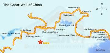 Great Wall Of China Map by The Great Wall Of China Thinglink
