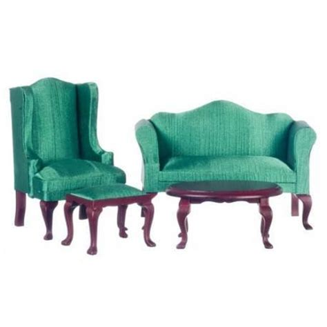 queen anne living room furniture mahogany queen anne living room set miniature dollhouse