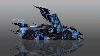 4k lamborghini aventador side transformer abstract car