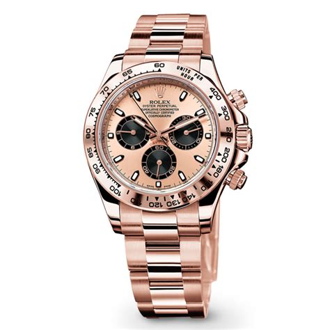 Rolex Ls20 Rosegold rolex cosmograph daytona 116505 gold pink and black world s best