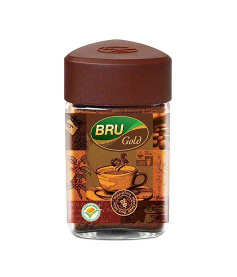 buy instant buy bru gold instant coffee 50 g at best price in
