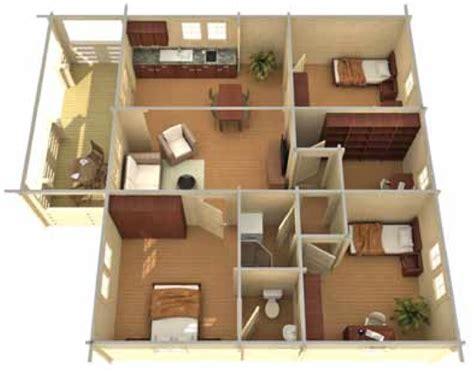 Small House Plans Under 700 Sq Ft letonia 900 sqft prefabricated log cabin kit