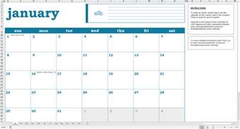 Calendar Of Events Template Excel by Easy Event Calendar Excel Template Savvy Spreadsheets