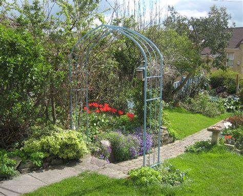 Galvanised Garden Arch Uk Arches Ironart Of Bath