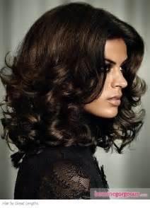 Dark chocolate brown hair color world fashion news