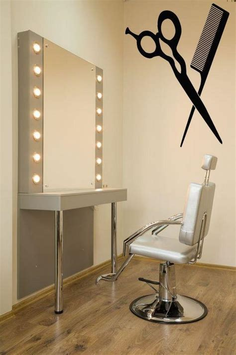 hair salon wall colors scissor hair salon sticker hairdresser decal barber shop