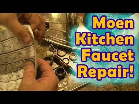 Youtube Moen Kitchen Faucet Repair by Easy Moen Leaking Kitchen Faucet Repair Youtube