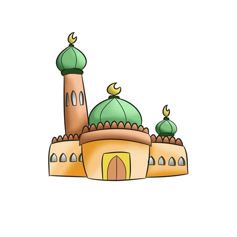 Mosque Drawing by How To Draw Simple Mosque