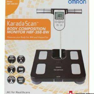 Timbangan Omron Hbf 362 jual alat ukur kadar lemak tubuh karada scan omron hbf 358
