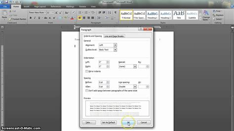 apa template for microsoft word apa format setup in word 2010 updated