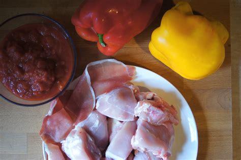 come cucinare il pollo con i peperoni pollo ai peperoni