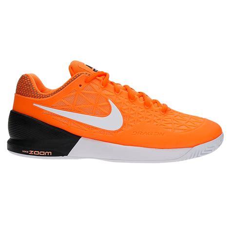 orange nike shoes nike zoom cage 2 s tennis shoes orange