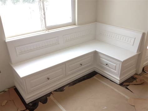 built in corner bench seating custom built corner bench seat yelp