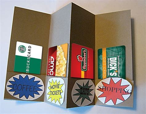 Multiple Gift Card Holder - pin by erin jolly on kids school ideas not too far in the future te