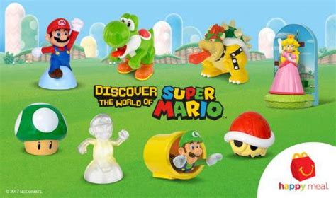 Mcdonalds Nintendo Switch Sweepstakes - super mario mcdonald s happy meal toys and nintendo switch sweepstakes run until may