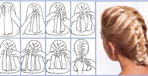 como hacer trenzas cascada paso a paso 191 c 243 mo hacer peinados con trenza cosidas paso a paso
