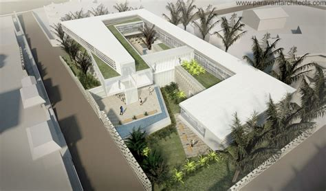 Twin Towers Floor Plans swiss embassy in cameroon by paravant architects