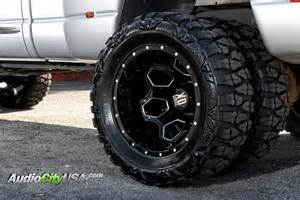 dodge ram 3500 custom wheels xd 815 battalion 22x8 25 et