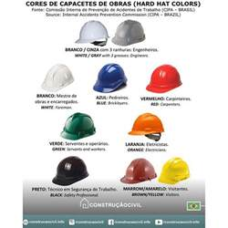 hat color code constru 231 227 ocivilc 243 digo color works helmets according to