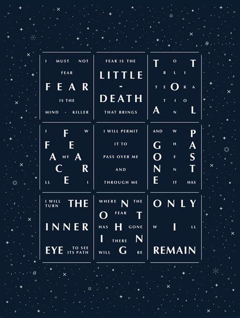 bene gesserit litany against fear frank herbert s dune best 25 dune frank herbert ideas on frank