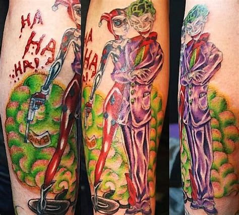 joker harley tattoo joker ideas and joker designs