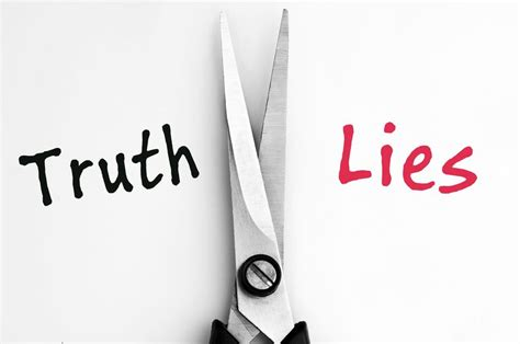 The Lies the lies that support the lies and the guilt complex