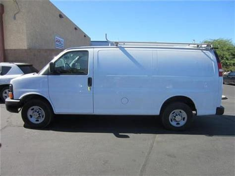automotive air conditioning repair 2011 chevrolet express 3500 user handbook sell used 2011 chevrolet express 3500 base standard cargo van 3 door 6 0l in scottsdale arizona