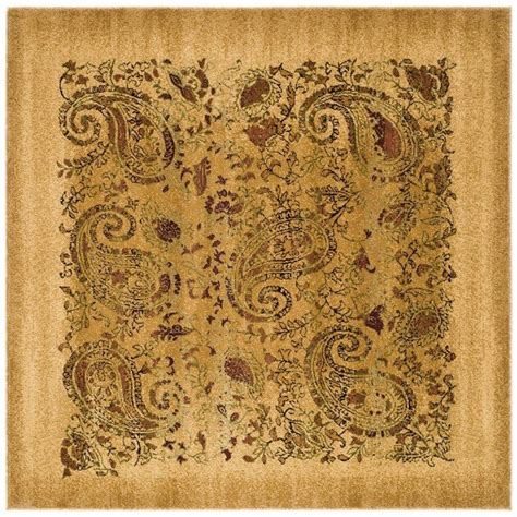 10 X 10 Ft Square Rug - safavieh lyndhurst beige multi 10 ft x 10 ft square area
