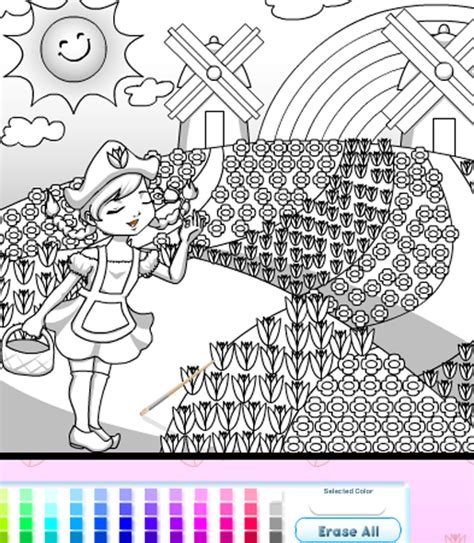coloring games online for girls coloring pages to print