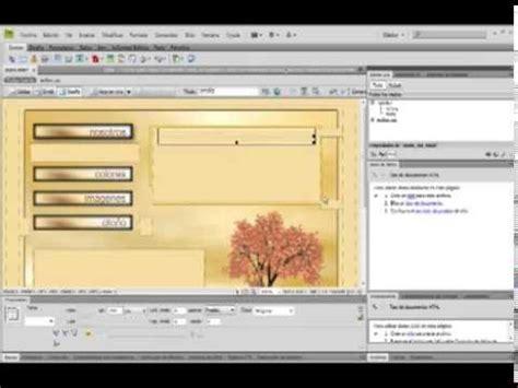 tutorial pagina web en dreamweaver tutorial 03 iii divisi 243 n pagina web en fireworks