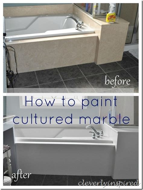 how to paint faux marble how to paint cultured marble