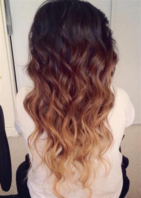 obre dye dip golden medium length hair shrinking violet
