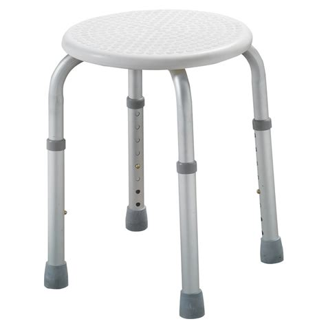 Bathroom Stools For Showers Shower Or Bath Stool Adjustable Height Lightweight Aluminium Seat Chair Ebay