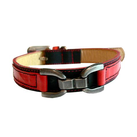 cool collars cool leather collar black and