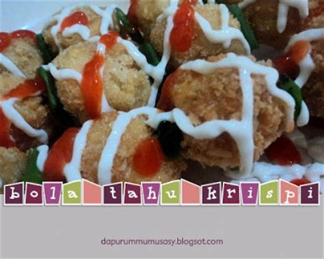 buat cilok baso baso tahu krispi resep masakan indonesia