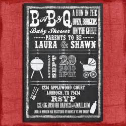 Free Baby Q Invitations Templates by Printable Baby Q Bbq Baby Shower Chalkboard Style 4x6 Or 5x7
