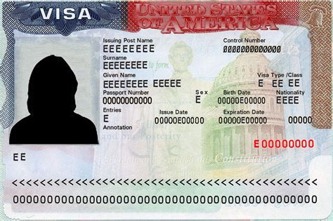 Visa Number Letter Visa Policy Of The United States