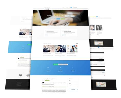 template joomla business solid joomla template for business warptheme