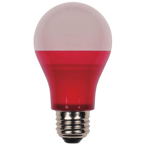 Westinghouse 40w Equivalent Red A19 Led Indoor Outdoor Indoor Led Light Bulbs