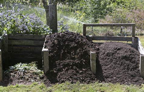 backyard compost pile triyae com backyard mulch pile various design