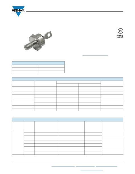 diode number vs 72hf160 datasheet pdf pinout standard recovery diodes